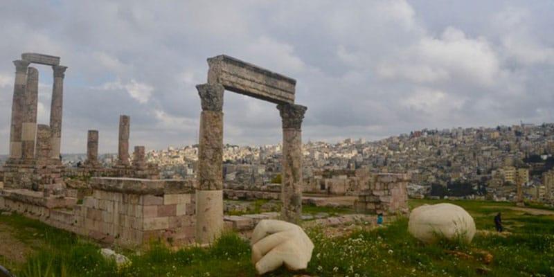 Amman en jordanie