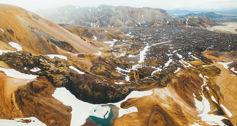 Les paysages incroyables de l'Islande
