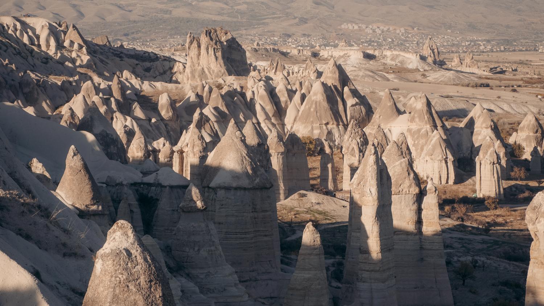 Love Valley en Cappadoce