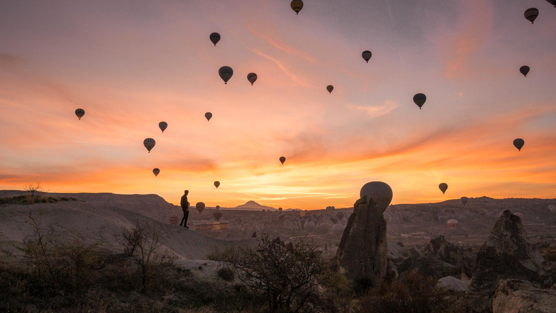 Le lever de soleil sur la cappadoce, la raison de visiter cet endroit