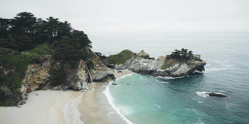 Big Sur côte Ouest USA