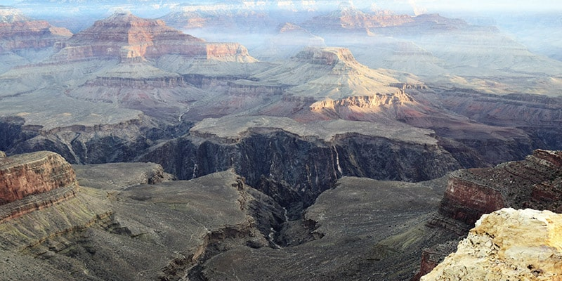 Grand Canyon ouest américain