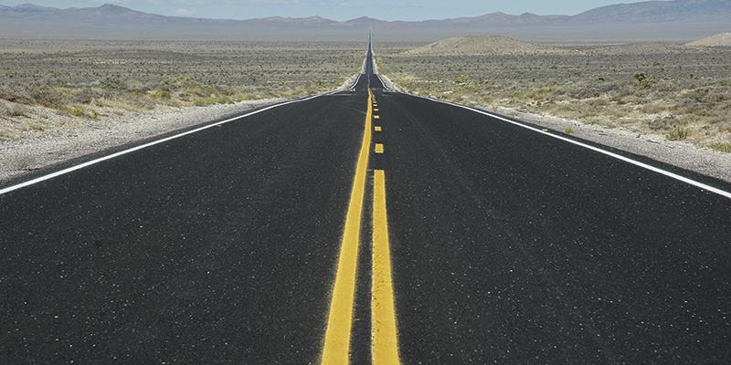 road trip ouest américain route