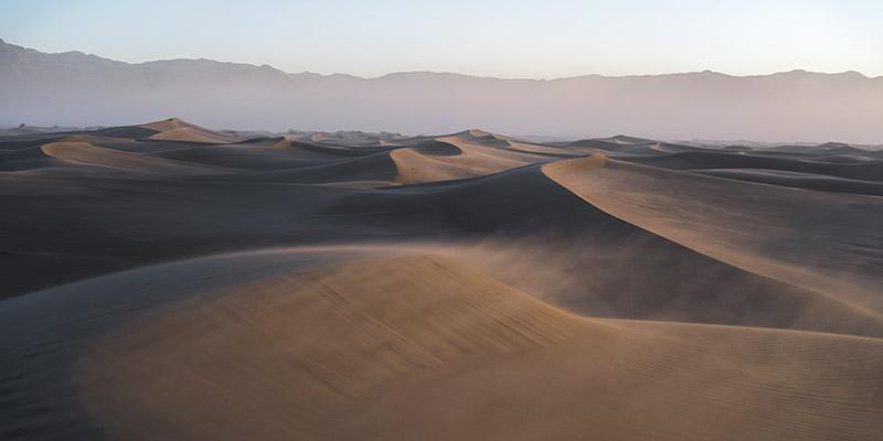 Mesquite Flat Sand Dunes vallée de la Mort